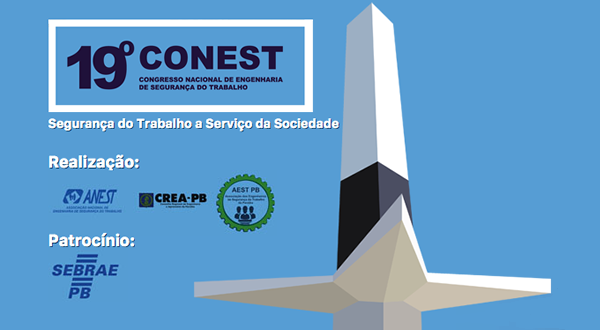 19º CONEST | CONGRESSO NACIONAL DE ENGENHARIA DE SEGURANÇA DO TRABALHO