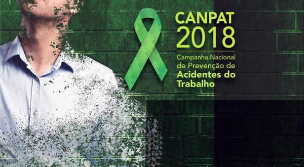 A ANEST está apoiando e participando do Lançamento da CANPAT 2018, promovido pelo Ministério do Trabalho, por meio de Seminário a ser implementado no próximo dia 17 de maio do corrente, em Natal-RN.