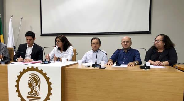 Plenária do mês de maio do CREA – RN contou com a participação do Deputado federal Rafael Mota, Vice – Presidente da frente parlamentar mista de Engenharia, Infraestrutura e Desenvolvimento Nacional.