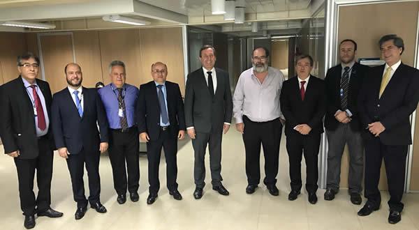 Reunião da ANEST – SOBES com o Presidente do Confea, Engenheiro Joel Kruger