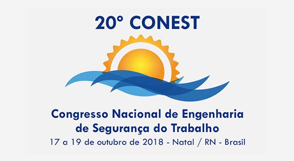 Programação do 20º CONEST – Congresso Nacional de Engenharia de Segurança do Trabalho
