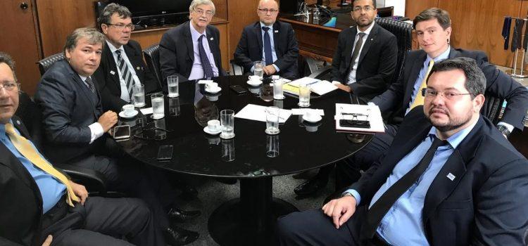 Reunião no Ministério da Economia