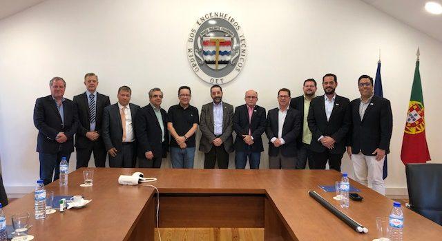 Delegação Brasileira é recebida na Sede da Ordem dos Engenheiros Técnicos de Portugal (OET)