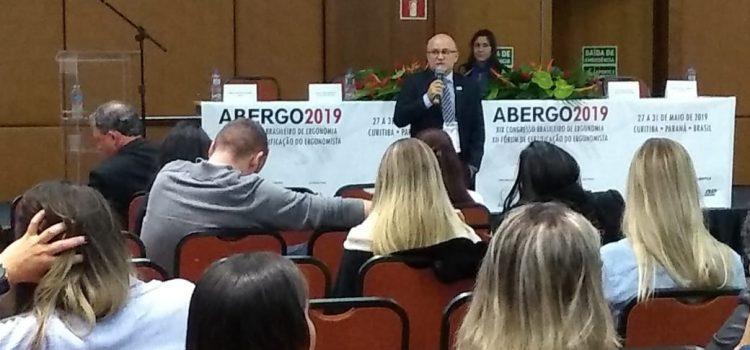 Presidente da Anest participa de Congresso Brasileiro de Ergonomia