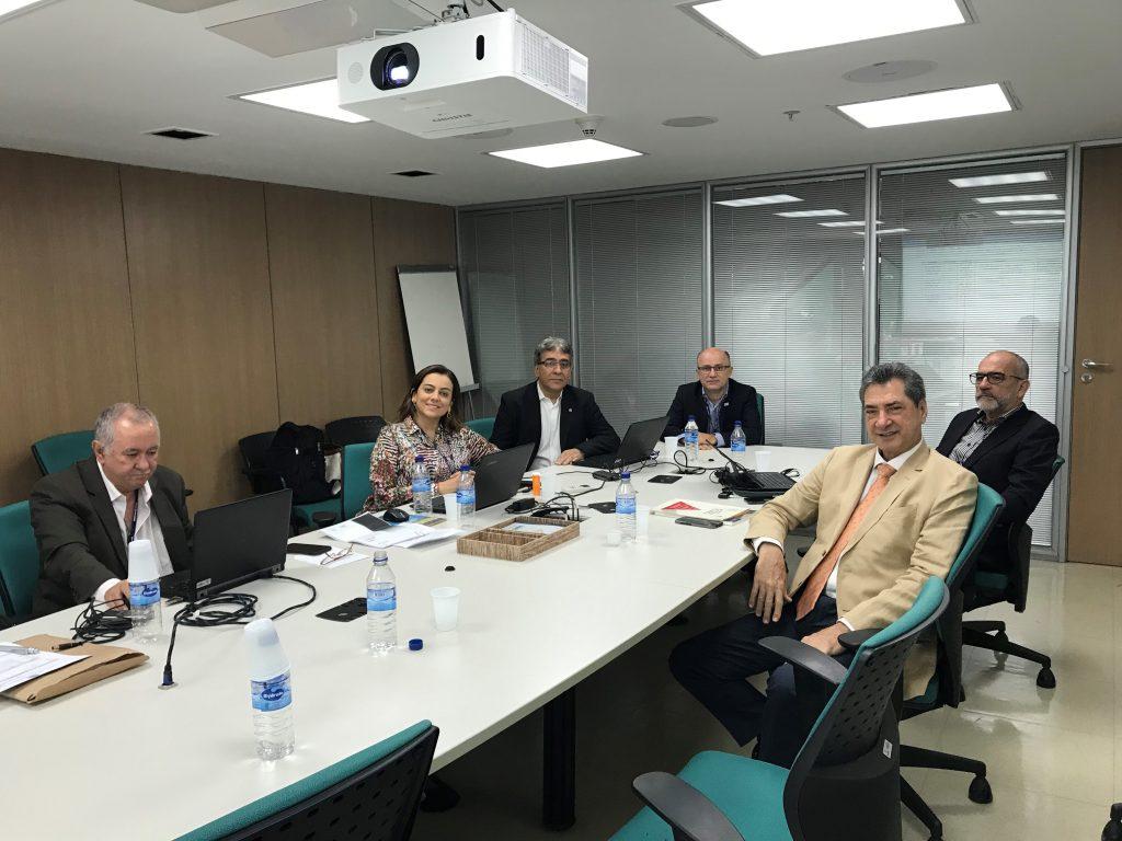 Presidente da ANEST participa de reunião do GT de revisão das Normas Regulamentadoras, no CONFEA