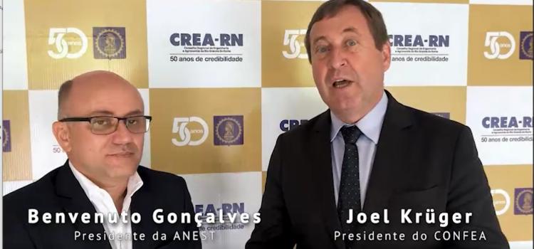 Presidente Joel Krüger convida profissionais para o 21º Conest
