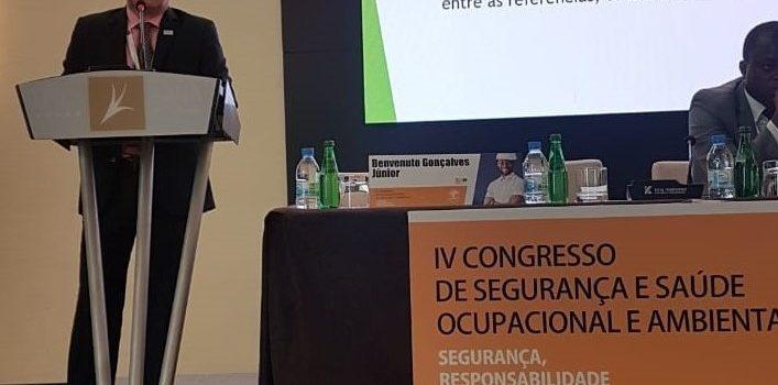 Palestra sobre Legislação Brasileira em Angola