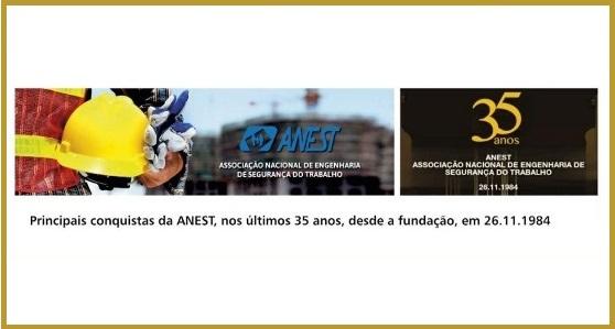 Revista Proteção traz um especial sobre os 35 anos da ANEST